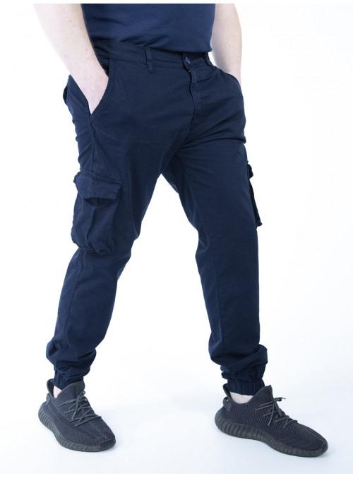Брюки джоггеры с карманами Blackzi 32-42р.