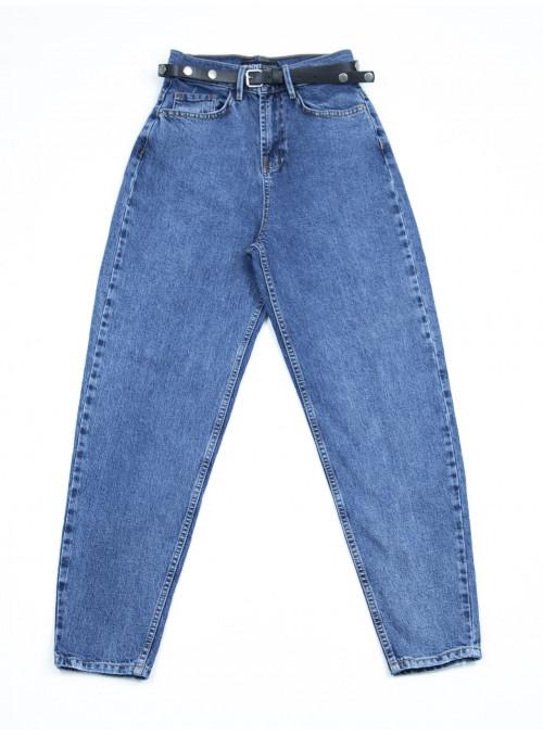 Женские джинсы МОМ синие 25-29