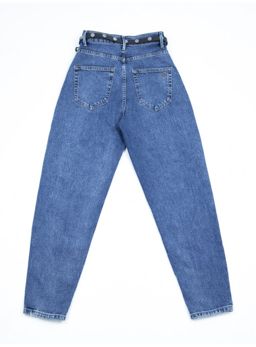 джинсы Crcpt 1007 син-вар слоуч 25-29ремЖ