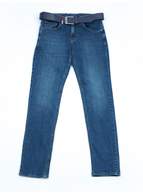 Мужские джинсы темно-синие 31-38